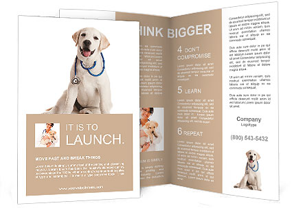 8 excellent pets & animal brochure templates to facilitate your.