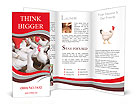 Poultry and a rooster on the main terms Brochure Templates