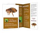 Large flea Brochure Templates