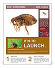 Large flea Flyer Template