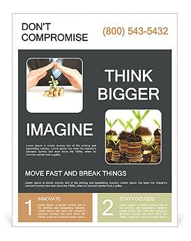 accumulate money flyer template design id 0000008552