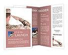 The military salute Brochure Templates