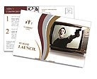Credibility of television Postcard Templates