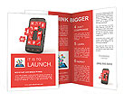 Mobile phone software in Puzzles Brochure Templates