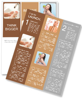hand washing as an integral part of the health newsletter template
