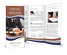 Important note businessman Brochure Templates