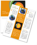 Earth in the context of Newsletter Template