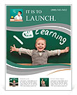 The kid loves to learn Flyer Template