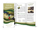 The eye of compassion Brochure Templates