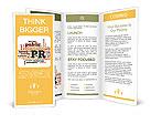 Words Public relations Brochure Templates