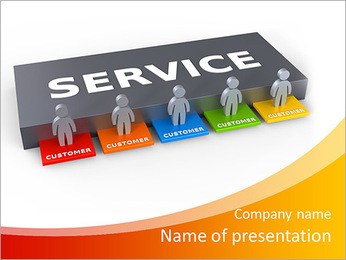 Support Service PowerPoint Template