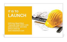 Building facilities Business Card Templates