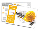 Building facilities Postcard Template