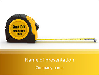 Measure PowerPoint Template