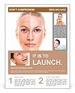 Girl cosmetics Flyer Templates