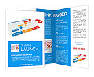 Words and diagrams Brochure Templates