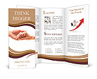 Hand in hand Brochure Templates