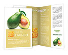 Yellow fruit Brochure Templates