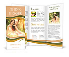 Mom and baby are very beautiful and touching Brochure Templates