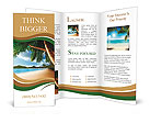 Dream beach vacation Brochure Template