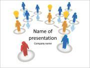 Concepto Social Plantillas de Presentaciones PowerPoint