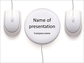 Mouse Computer PowerPoint Template