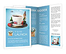 English tea as a tribute to traditions Brochure Templates