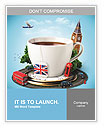 English tea as a tribute to traditions Word Templates