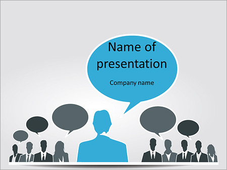 Questions at the seminar PowerPoint Template, Backgrounds & Google ...