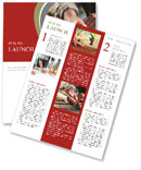 Carpenter draws on the drawing board Newsletter Templates