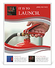 Fire extinguisher Flyer Template