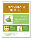 Green tea as a way to health Poster Template