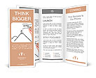 Man drawing success meaning Brochure Templates