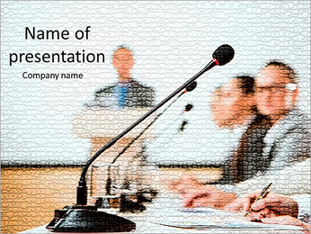 Conference and Workshop PowerPoint Template