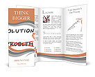 Writing solution and ignore problem Brochure Templates