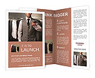 Classic suit Brochure Templates