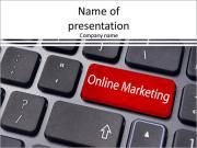 Маркетинг в Интернете, как клавишу ввода на клавиатуре Шаблоны презентаций PowerPoint