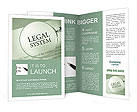 Legal System Brochure Template