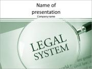 Legal System PowerPoint Templates