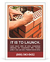 Bricklaying Ad Template