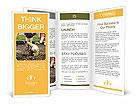 A worker removes water leak Brochure Template