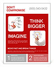 Diagram of stress consequences with explanations Flyer Template