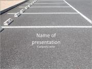 Parking gratuit Modèles des présentations  PowerPoint