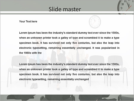 Tiresome Waiting Interview Powerpoint Template Backgrounds Google