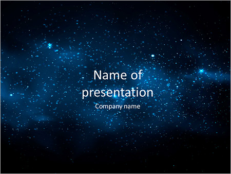 Galaxy powerpoint template smiletemplates milky way powerpoint templates toneelgroepblik Choice Image
