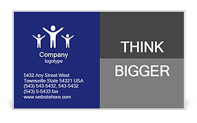 0000080302 Business Card Template