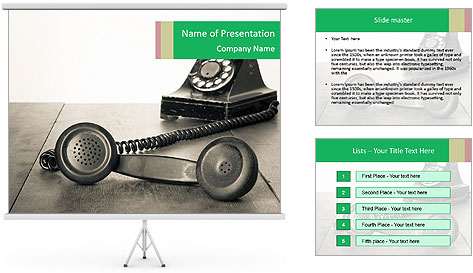 0000080418 PowerPoint Template