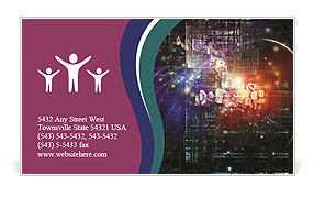 0000080812 Business Card Template