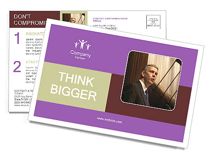 0000081005 Postcard Template