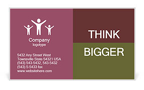 0000081009 Business Card Template